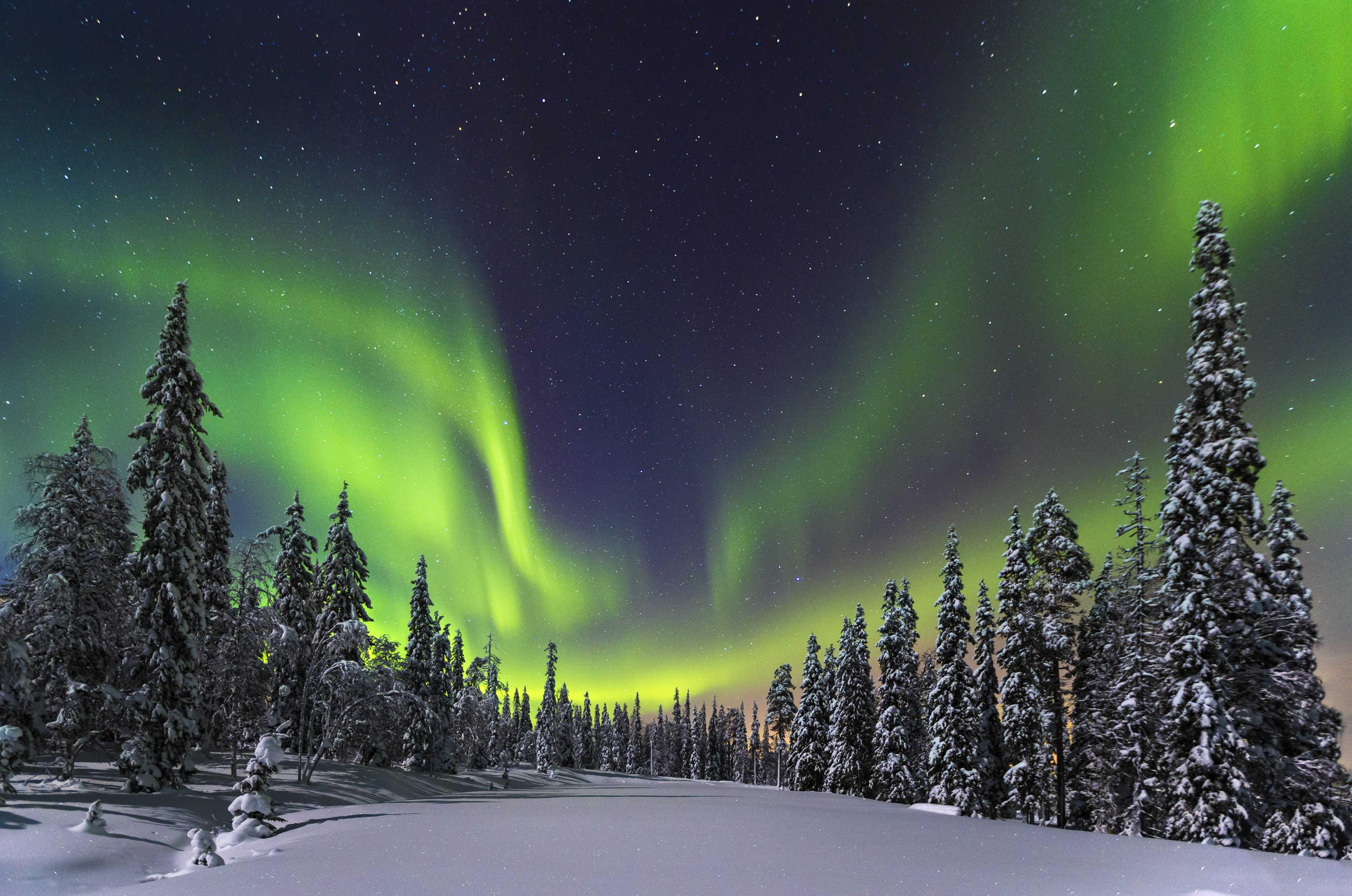 Finland Noord-licht