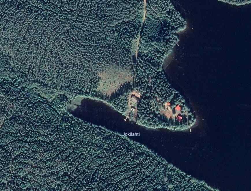 Metsäranta satelliet foto
